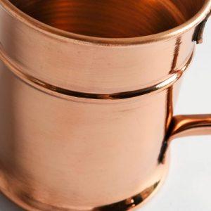 Ποτήρι κορδόνι με χερούλι 250ml Α7 cm , 500ml A8 cm