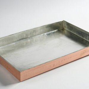 Χάλκινο ταψί ορθογώνιο διαστάσεων 30x20x3 cm, 40x30x3 cm και 40x30x5 cm