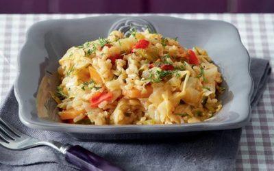 Λαχανόρυζο, υγιεινό φαγητό