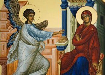 Απολυτίκιο Ευαγγελισµού της Θεοτόκου – 25 Μαρτίου