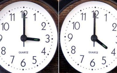 Αλλαγή ώρας : Μια ώρα μπροστά από 28-3-2021