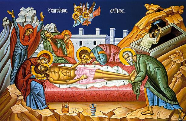 Στις Μυροφόρες και στη θεόσωμο ταφή του Κυρίου
