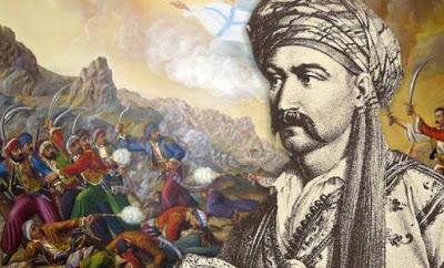Ο Νικηταράς δίνει ένα μάθημα στους Τούρκους στα Δολιανά